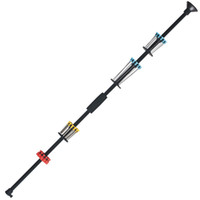 "Wholesale Dart Bow - 36"" 48"" Black Blowpipe WITH 48 DARTS(12 Plastic+36 Needles)  .40 Caliber with Foam Comfort Grip+Front Plastic Sight"