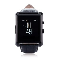Wholesale International English - Ituf International New Bluetooth Smart Watch DM08 Smartwatch Luxury Leather IPS Business Wristwatch For Apple iPhone & Samsung Android Phone