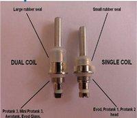 Wholesale Wholesale Electronic Cigarette Suppliers - kanger dual coils head kanger dual coils kanger dual coil replacement health electronic cigarette supplier