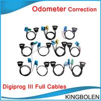 outil de réglage du compteur kilométrique achat en gros de-Ensemble complet de câbles pour Digiprog III Digiprog 3 Odometer Correction Tool Livraison gratuite En stock