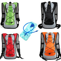 Wholesale hydration bladder water backpack - Hydration Pack Water Rucksack Backpack Bladder Bag Cycling Bicycle Bike Hiking Climbing Pouch + 2L Hydration Bladder Set