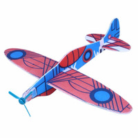 12 Flying Glider Planes Airplane Bag Fillers Childrens Kids Toys Modelo de juego