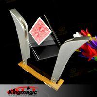 Wholesale Magic Tricks Card Frame - Wholesale-FREE SHIPPING Magic Tricks TV Card Frame(Deluxe) King magic props