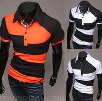Wholesale Vintage Tennis Shirt - New Men Brand Tshirt Short Sleeve Polo Shirt Vintage Sports Jerseys Golf Tennis Casual Shirts Tee Blusas M-XXL