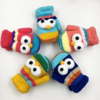 luvas de bebê para meninos venda por atacado-Luvas de Inverno de Natal das crianças Dos Miúdos Do Bebê Luvas Meninos Meninas Luvas De Malha Luvas De Crochê Luvas Quentes 6 Mangas