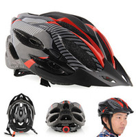 Wholesale Carbon Cycle Helmets - 2016 Cycling Helmet carbon Bicycle Racing Safety Helmet Adult Mens Bike Helmet Carbon Fiber high quality free shipping