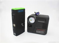Wholesale Engines Automobile - Multifunction Air Inflatable Compressor and Car Jump Starter Car Engine Emergency power supply with Air Pump For 12V Gasoline Automobile
