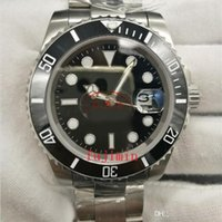 Wholesale ceramic sub - watches luxury brand men mechinal watches Rolis black dial SUB ceramic bezel sapphire glass aaa quality men Wristwatches