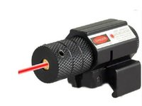 láser de airsoft al por mayor-Red Dot Laser Sight 635-655nm Mini Caza ajustable airsoft Camping al aire libre