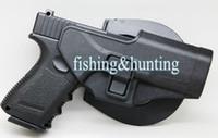 Wholesale Bag For Pistol - Tactical Concealment Holster Right Hand Black Pistol Case Bag For Glock 17 18 19 23 32 36