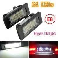 Wholesale E84 Bmw X1 - 2X E-marked OBC Error Free 24 LED White License Number Plate Light Lamp For BMW E81 E82 E90 E91 E92 E93 E60 E61 E39 X1 E84 order<$18no track