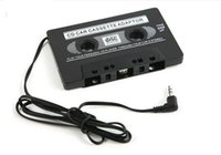 Wholesale Cassette Mp3 Transmitter - New Audio Car Cassette Tape Adapter Converter 3.5 MM For Iphone Ipod Nano MP3 AUX CD
