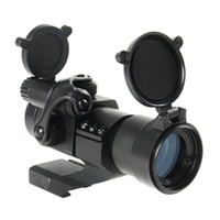 Wholesale Tactical Cantilever - Tactical M2 Style 1x30mm Red Green Dot Rifle Scope Sight with Quick Release Cantilever Mount