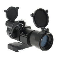 m2 montiert großhandel-Taktische M2 Stil 1x30mm Rot / Grün Dot Zielfernrohr Anblick mit Quick Release Cantilever Mount