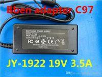 tablet pc sanei оптовых-Адаптер 3,5 * 1,35 мм JY19220 JY-19220 19 В 2,2 А или 3,5 А Bben C97 N2600 S10 S16 T10 A8 Зарядное устройство для планшета Ac Dc Jy-1922 Импульсный источник питания
