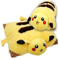 Wholesale 42 Dolls - Pikachu Animal Dolls ,42 *30 Cm Baby Plush Toys ,Children Pocket Folding Pillow Send Kids As Gift With Free Shipping