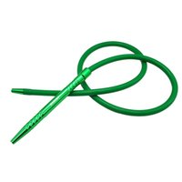 Wholesale silicon hoses for sale - 1 M Aluminum Stem Shisha Hookah Hose silicon hose Shisha Pipe Aluminum Handle