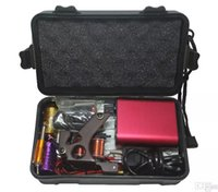 Wholesale Tattoo Piercing Equipment - Tattoo Kit Professional with Best Quality Permanent Makeup Machine For Tattoo Equipment Cheap Red Tattoo Machines