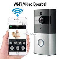 Wholesale Ios App Security - Smart Video Doorbell 720P HD Wifi Security Camera 8GB Real-Time Night Vision, PIR Motion Detection For IOS Android Phone APP Control