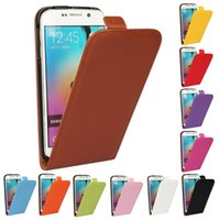 Wholesale Galaxy S4 Cover Genuine - For Galaxy note 2 note 3 note 4 note 5 NOTE 5 EDGE Real Genuine Colorful Leather Vertical Flip Case Cover For Samsung S2 S3 S4 S5 S6 S6EDGE