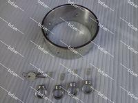 Wholesale Heavy Duty Bondage - Heavy Duty Stainless Steel 5CM high Steel Locking Slave Collar Collars with 4 rings Neck Bondage BDSM