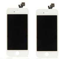 Wholesale Iphone 4c - White & Black For Iphone 4s 4c 5G 5S 5C 6 6plus LCD display assembly Replacement with Touch Screen Digitizer Assembly free shipping
