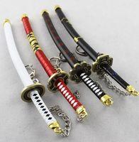 Wholesale Miniature Keys - Collectible crafts Japanese Doll Miniature Katana Samurai Sword w  Scabbard and Stand--key chain--Not sharp--22cm
