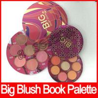 libros calientes al por mayor-Venta caliente! Big Blush Book 2 Big Blush Book 3 paleta Blush Palette 8 colores envío gratis