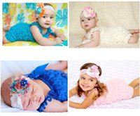 Wholesale Tutu Kind - Nine Kind Of Colors romper Cute Baby Girl Lace Posh Petti Ruffle Rompers TUTU 0-3Y With Shoulder jumper Strap suspender jumpers A8