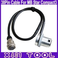 MB Star Compact3 38Pin Câble pour Mercedes-Benz de Super MB Star TOP 38 broches MB C3 accesorries
