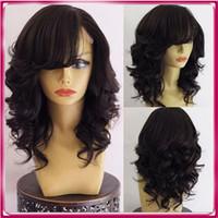 Wholesale Cheap Short Blonde Wigs - Cheap Brazilian Human Hair Full Lace Wig Hot Selling Woman Hair Human Wig
