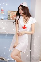 Wholesale Adult Sexy Short Skirts - Free shipping! Fun adult nurse nurse skirt big yards sexy ghost much smaller size nursing uniforms charming pink uniforms temptation