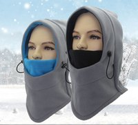 Doppelschichten Verdicken Winter Warme Full Face Balaclava Abdeckung Beanie Maske Scarvies CS Hut Kappe Für Outdoor Kriegsspiel Jagd Radfahren Ski