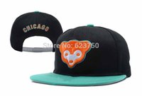 Wholesale-3 stili 2015 nuovo arrivo del fumetto Chicago Cubs animale Snapback poco costoso mens donne berretti da baseball Gorras bboy Hip Hop