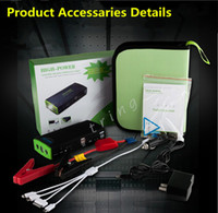 Wholesale Engine Starts - 38000mAh Multi-Function Car Jump Starter Start 12V Car Engine Emergency Battery Phone Power Bank Laptop cellphone Fast Charge