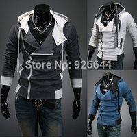 Wholesale Cool Sports Hoodies Sweatshirts - Fall-Hot Selling Men's Cool Brand Winter & Autumn Male Casual Sports Hoodies Sweatshirts Hooded Jackets