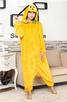 Wholesale Xxl Dog Jumpsuits - A Goofy Movie winter Warm onesies Goofy Coral Fleece Pyjamas Small brown dog Costume jumpsuits Tracksuit