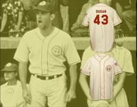 Wholesale Peaches Movies - Men Women Youth Tom Hanks #43 Jimmy Dugan Rockford Peaches Custom Baseball Jersey A League of Their Own Movie Jerseys