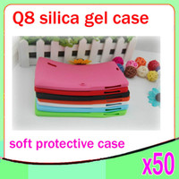 "Wholesale Newest Q88 Inch A13 - Newest Soft Gel Silicone Case Protective Skin Cover For 7"" Q88 7 inch Google Android A13 Tablet PC 50pcs ZY-MID-1"