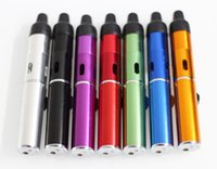 Wholesale Bbq Lights - Click N Vape sneak a vape Mini Herbal Vaporizer smoking pipe Trouch Flame Lighter With Built-in Wind Proof Torch Lighters free shiping