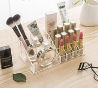 Clear Acrylic Cosmetic Organizer Box Makeup Storage Drawer Desk Banho Makeup Brush Lipstick Holder Desktop Storage Box