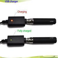 Wholesale Ego K Q Kits - eGo Electronic Cigarette USB Charger for E cigarette E Cig Kits for eGo t k q vv vision spinner Battery E cig charger instock DHL Fast Free