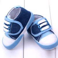 Wholesale Learn Walk Shoes - Wholesale-Lovely Baby Shoes Soft Bottom Footwear Newborn Baby Shoes walk learning shoes
