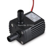 Wholesale Centrifugal Submersible Pump - 2014 New DC30A-1230 DC12V 2 Phase Brushless Magnetic Centrifugal Submersible Mini Water Pump Waterproof 240L H 3.0M 4.2W