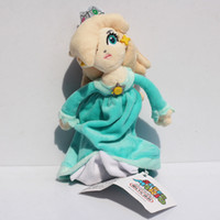 Wholesale Games Princess For Girls - 18cm Super Mario Princess Rosalina Plush Toy With Tag Soft Dolls Gift For Girl Free Shipping