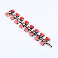 Wholesale Christmas Pendrive - New Styles 2013 Fashion Jewelry Antique Resin Red Bow Charming Bracelet Christmas Gifts bracelet pendrive bracelet gift