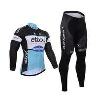 Wholesale Cycling Jerseys Cervelo - Men Cycling jersey Cervelo winter thermal Fleecehombre long sleeve Pro bicycle bike jersey Bycle bib long pants Sets cycling clothing