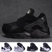 Wholesale Red I - Newest Huarache 1.0 I Running Shoes For Women & Men, Fashion Huaraches white Red black blue Trainer Athletic Sport Sneaker Eur 36-45