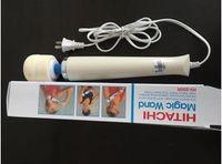 freies verschiffen für vibrator großhandel-DHL 250R HITACHI Zauberstab Massager, Super Vibrationsmassage, Vibrator ,, Ganzkörpermassagegerät, 110V-250V Vibrationsmassagegerät, freies Schiff 10pcs