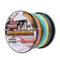 Wholesale Spectra Braided - Fishing Fishing Lines hot sale supper strong 1000M braided wires 100% pe fiber fishing line spectra multi-color 4 strands